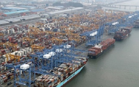 Korea's exports remain upbeat, gains weighed down by lukewarm domestic demand