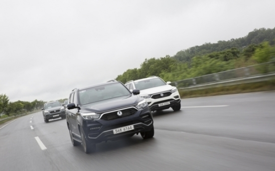 Solid driving characteristics, comfort key attributes of SsangYong's new G4 Rexton SUV