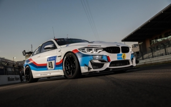 Hankook Tire supplies threads for BMW M4 GT4 racing car