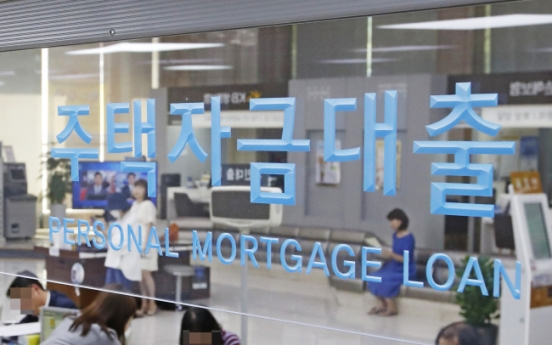 Korea's household debt-to-GDP ratio rises 3rd-fastest on-year