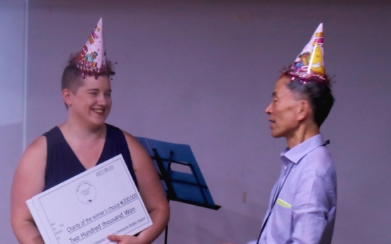 Gift drive organizer wins Michael Simning Award