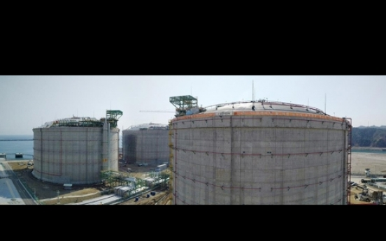 KOGAS starts operation of 3 LNG storage tanks in Korea