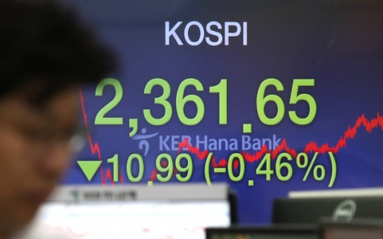 Fed hike dents Korean stock markets