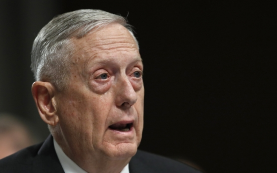 US exhausting all diplomatic efforts to resolve NK nuclear issue without using force: Mattis