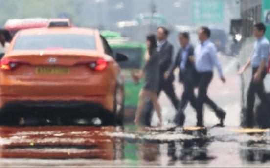 Season's first heat warning issued in Seoul