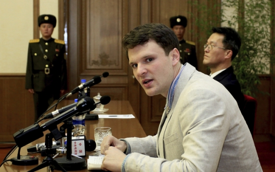 Doctors report Warmbier's brain damage while voices grow for NK travel ban