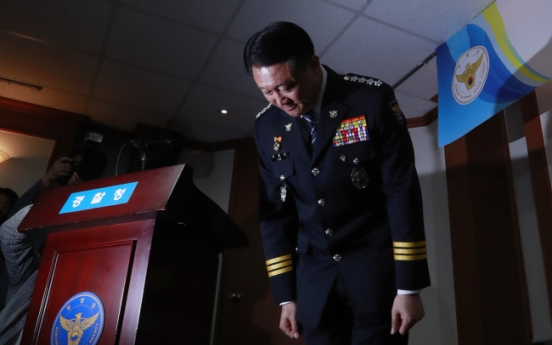 Police chief makes belated apology over protestor's death