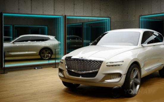 Hyundai to unveil GV80 concept version in Korea