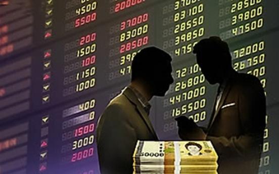 Korean shares lose ground on profit-taking