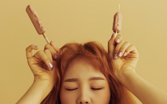 'Curse queen' Baek A-yeon shows off playful side during CeCi shoot