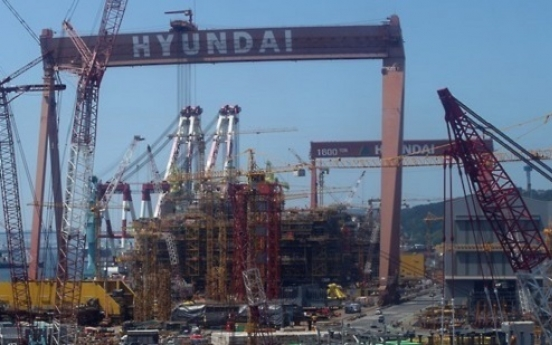 Hyundai Heavy affiliate sells stake in parent firm's spin-off unit
