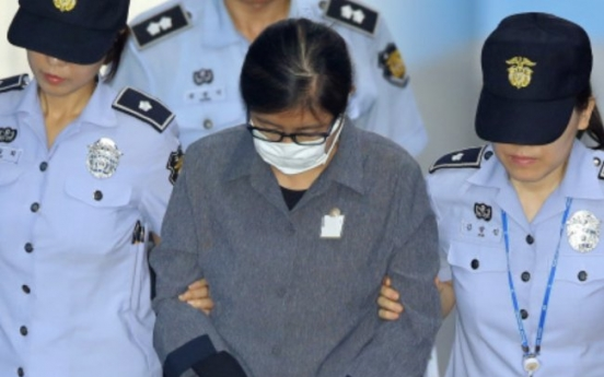 Choi Soon-sil gets jail term over daughter's illegal college admission