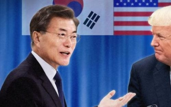 Moon seeks advice from former ambassadors ahead of meeting with Trump