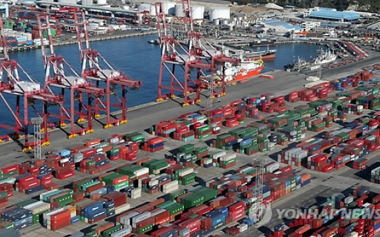 Korea's seaport cargo edges down 0.5% in May