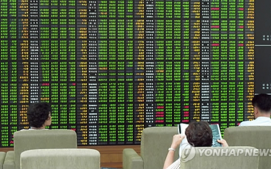Korean shares advance in late morning trading