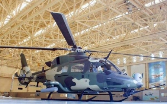 Korea begins prototype production of light armed chopper