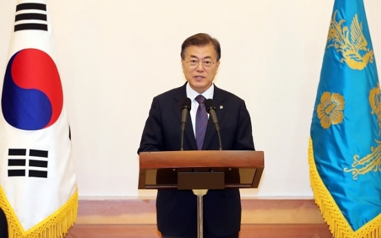 Moon says swift execution of extra budget only way to ensure recovery, growth