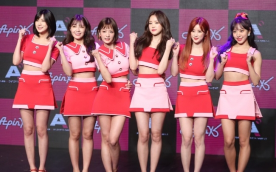Apink makes dramatic return with 'Pink Up' amid bomb threat