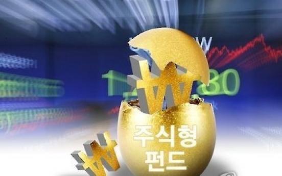 Korea's stock funds shine on bull market