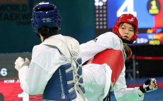 Kim Jan-di grabs bronze at taekwondo worlds