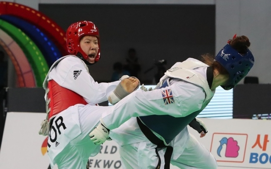 Korean An Sae-bom takes bronze at taekwondo worlds