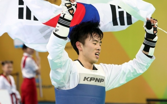 Surprise world taekwondo champion eyes 2020 Olympics