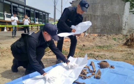 Multiple human remains unearthed at construction site