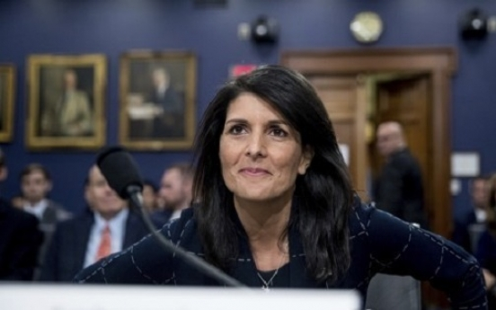 Moon made 'good strides' toward US away from N. Korea: Haley