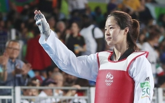 Oh Hye-ri takes silver at taekwondo world championships