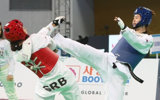 Korea adds 2 more medals at taekwondo world championships
