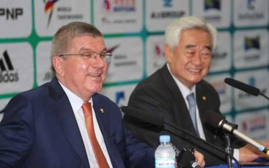 IOC President Bach hails taekwondo's evolution into 'global' sport