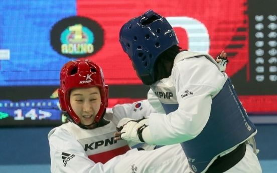 Kim So-hee takes bronze at taekwondo worlds