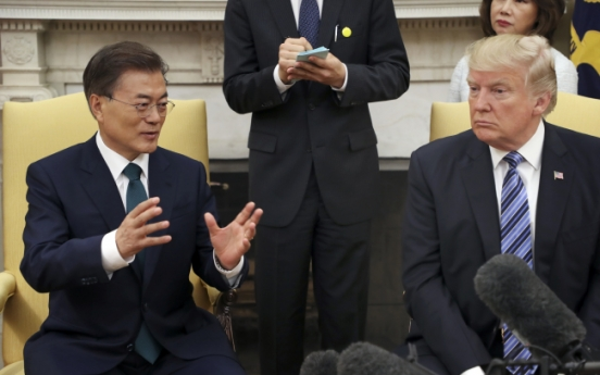 Trump accepts invitation to visit South Korea this year