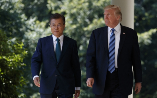Full script of joint news conference of Presidents Moon Jae-in and Donald Trump