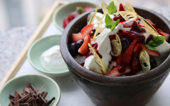 [Weekender] Bingsu, Korea's heat-beating ice dessert