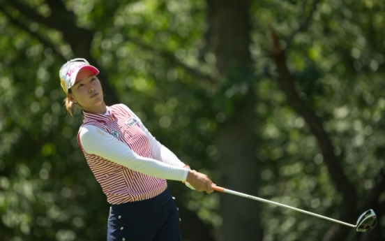 Choi, Kang share lead at Women's PGA Championship