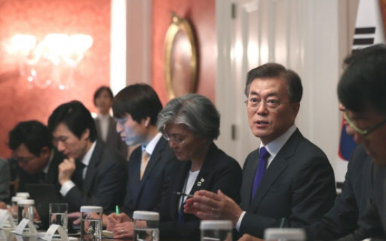 Emboldened Moon to spur NK dialogue, but challenges remain