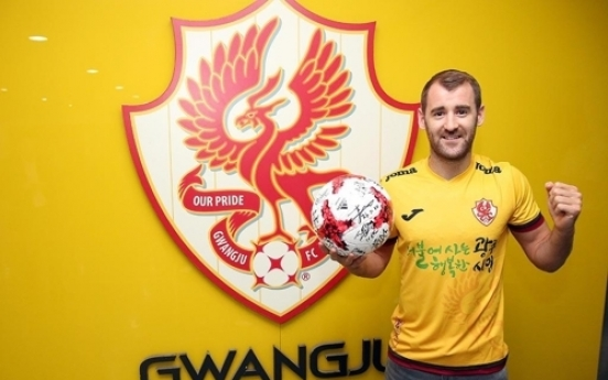 Football club Gwangju sign league's 1st Northern Irishman