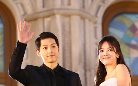 [Breaking] Song Joong-ki, Song Hye-kyo to get married in October
