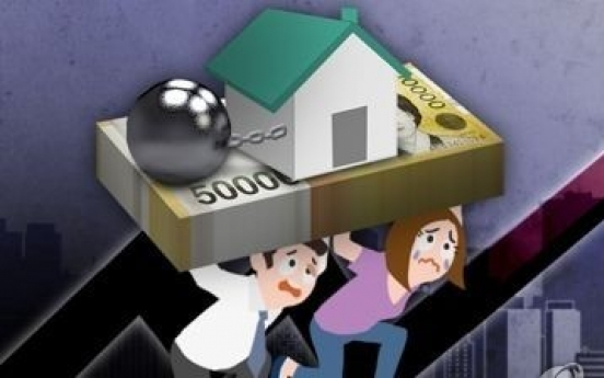 Indebted households spending more income to repay loans