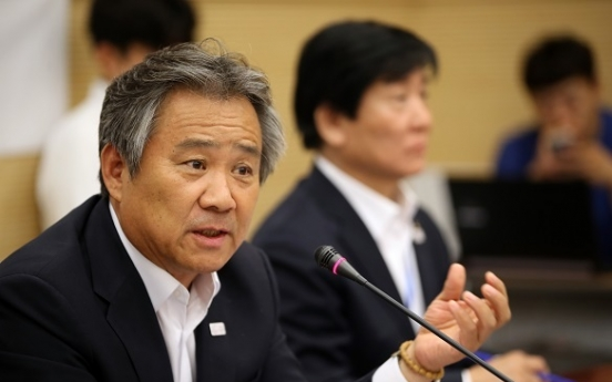 Now is not right time to discuss unified Korean team at PyeongChang: Korean Olympic chief