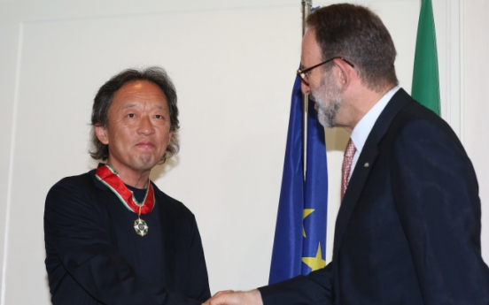 Chung Myung-whun receives Italian honors