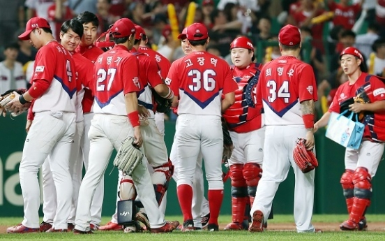 Longest double-digit runs scored streak in Korean baseball ends at 8