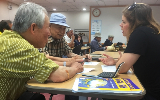 Age no barrier for English-loving seniors