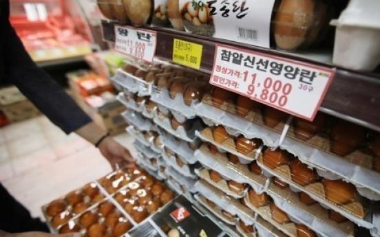 Egg prices still flying high despite imports