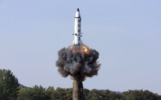 North Korea yet to master re-entry technology for ICBM: NIS