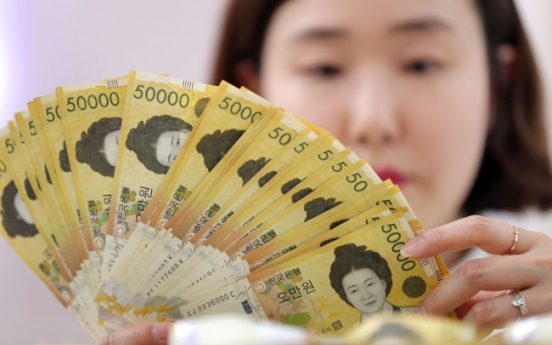 Korea's money supply up 6.1% in May: BOK