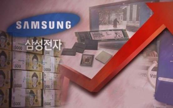 Samsung Elec's market cap explodes to overtake secondary bourse