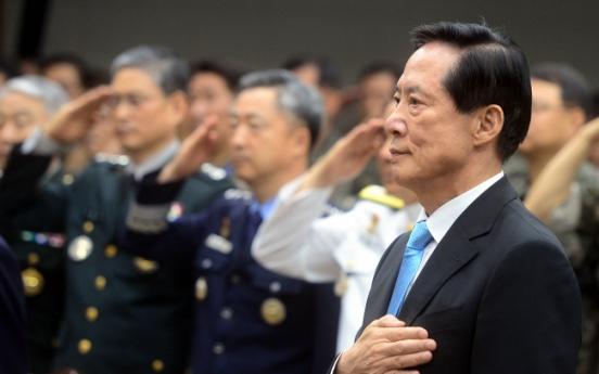 New defense chief vows reform amid North Korea crisis