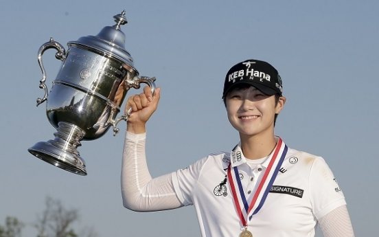 US Women's Open champ Park Sung-hyun soars to No. 5 in world golf rankings